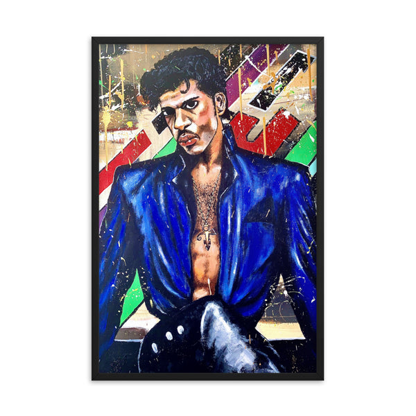 Prince Abstract Framed Poster: Sublime - PREMIUM FATURE