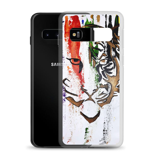 Abstract Tiger Samsung Case - PREMIUM FATURE