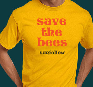 Sunfellow - Save The Bees T-Shirt