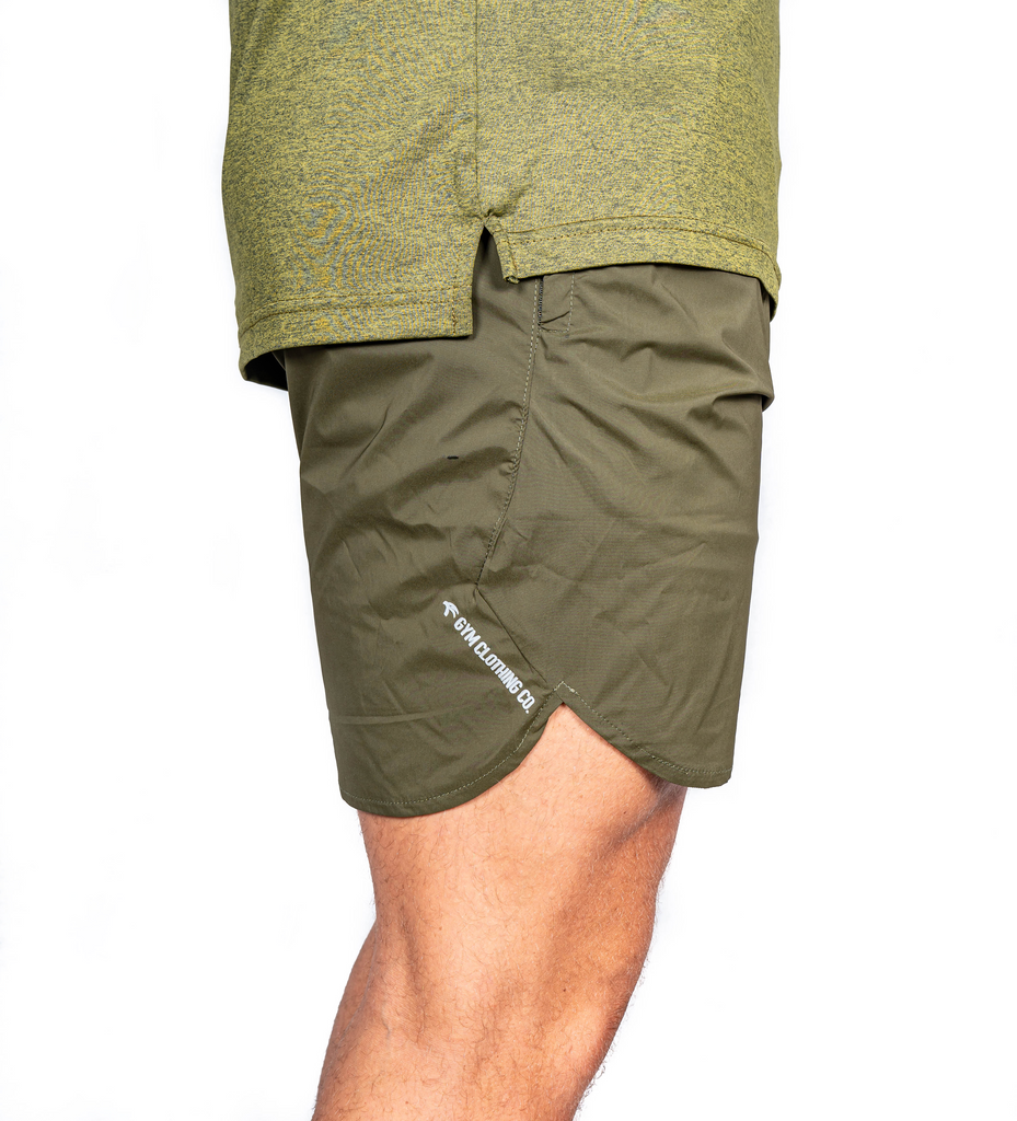 Ghost Gym Shorts- Tactical Green