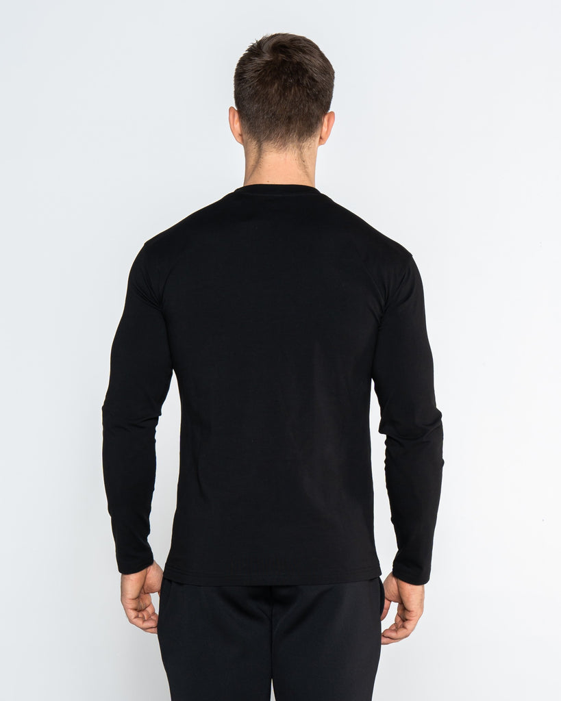 CORE TEE LONG SLEEVE - BLACK