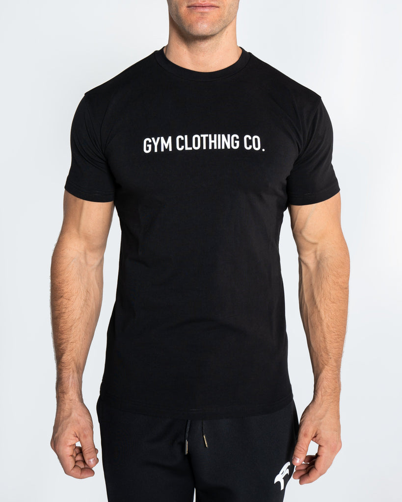 CORE TEE WORDING - BLACK