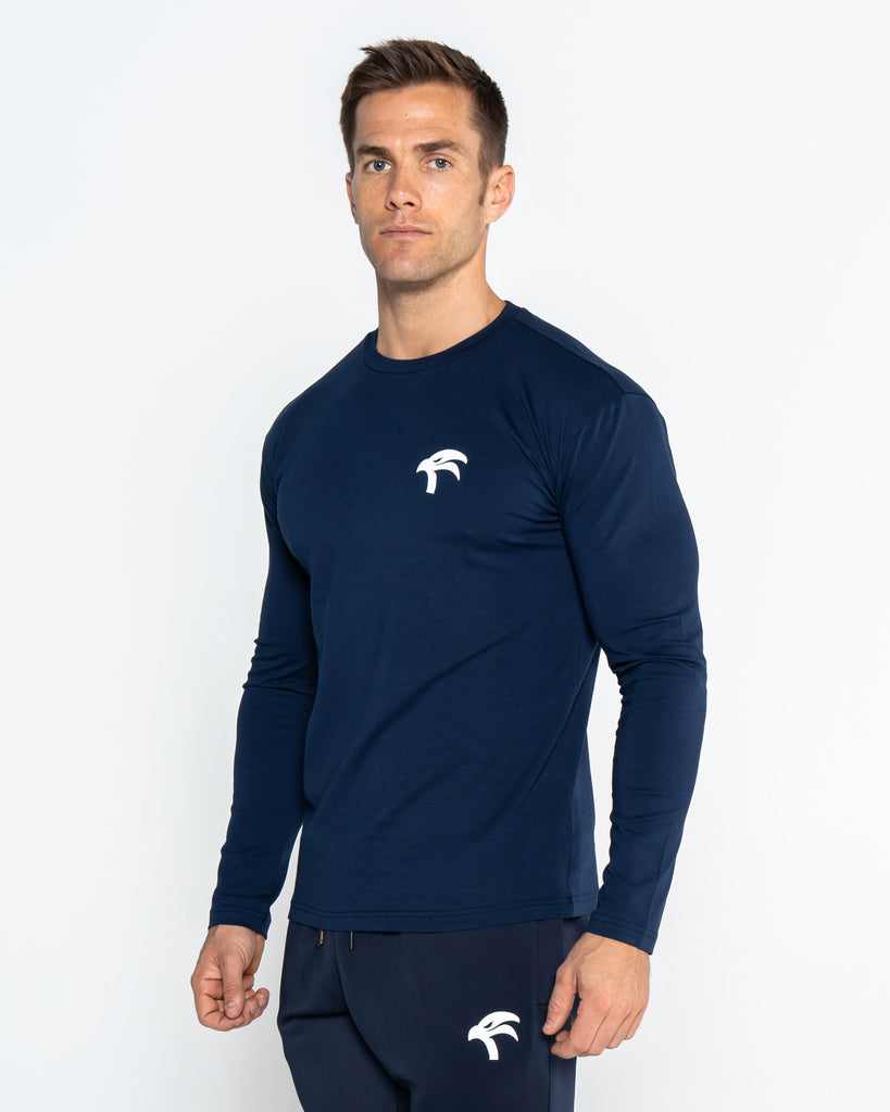 CORE TEE LONG SLEEVE - BLUE