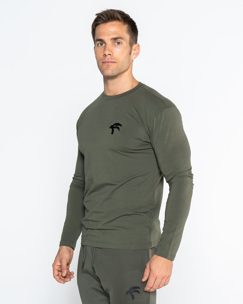 CORE TEE LONG SLEEVE - GREEN