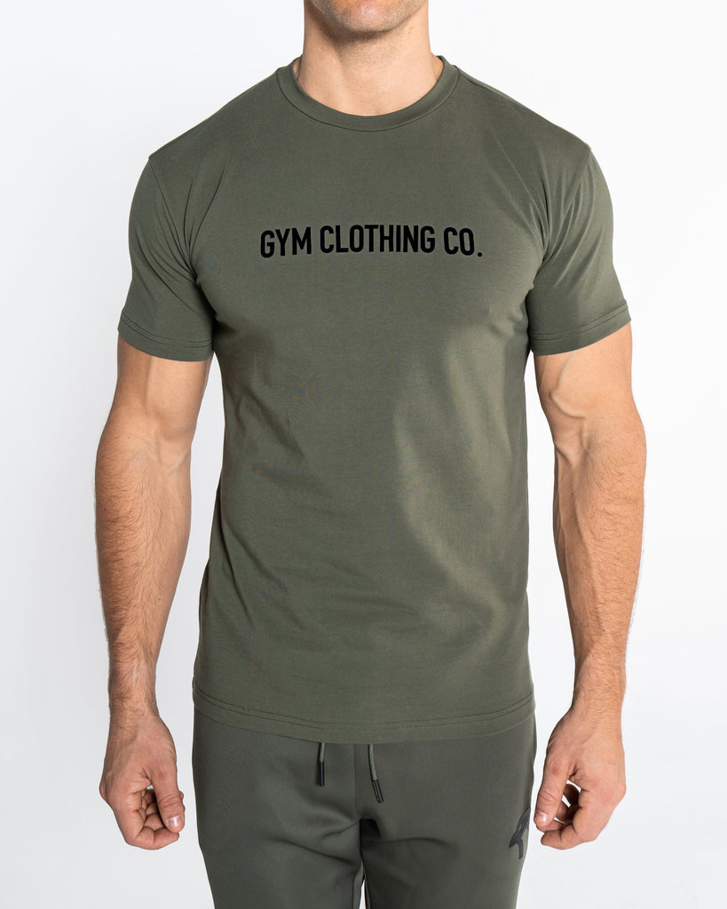 CORE TEE WORDING - GREEN