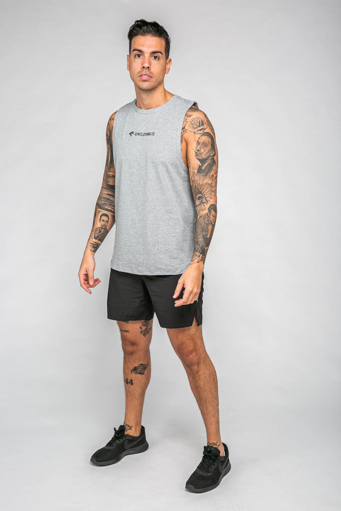 Focus Sleeveless - Grey