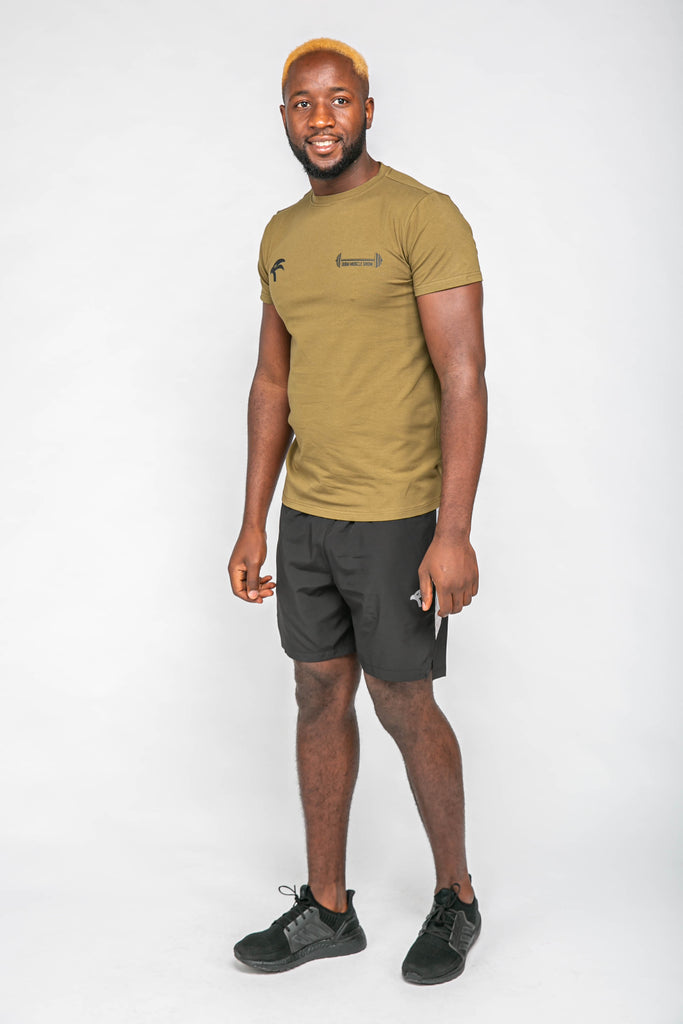 Origin X Muscle Tee - Army Green