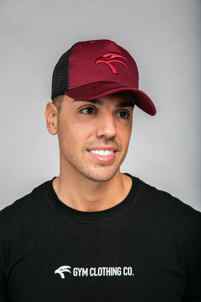 Origin Trucker Cap - Burgundy