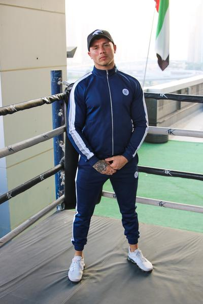 Bold Full Tracksuit - Navy - UK ONLY