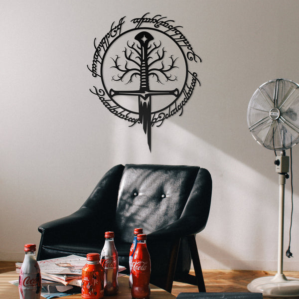 The Lord of the Rings Metal Wall Art