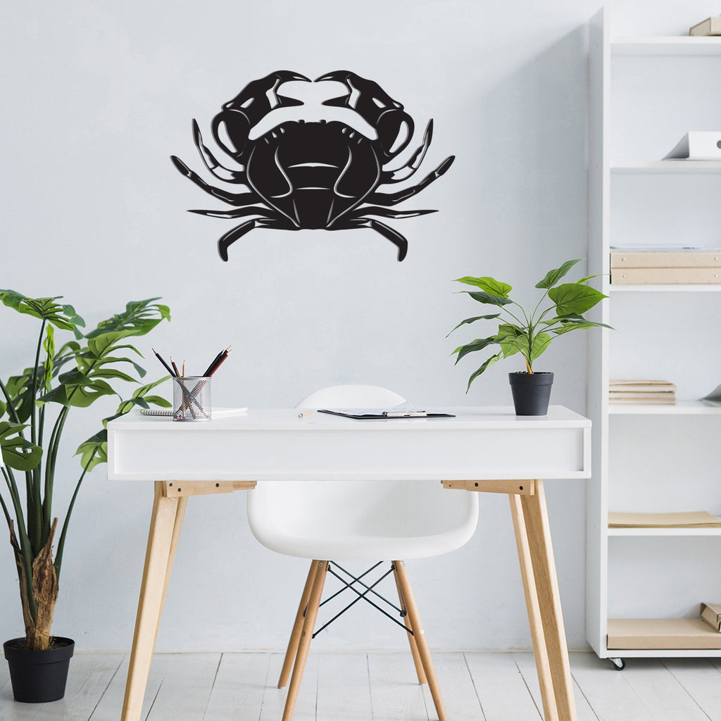 Crab Metal - Metal Wall Decor