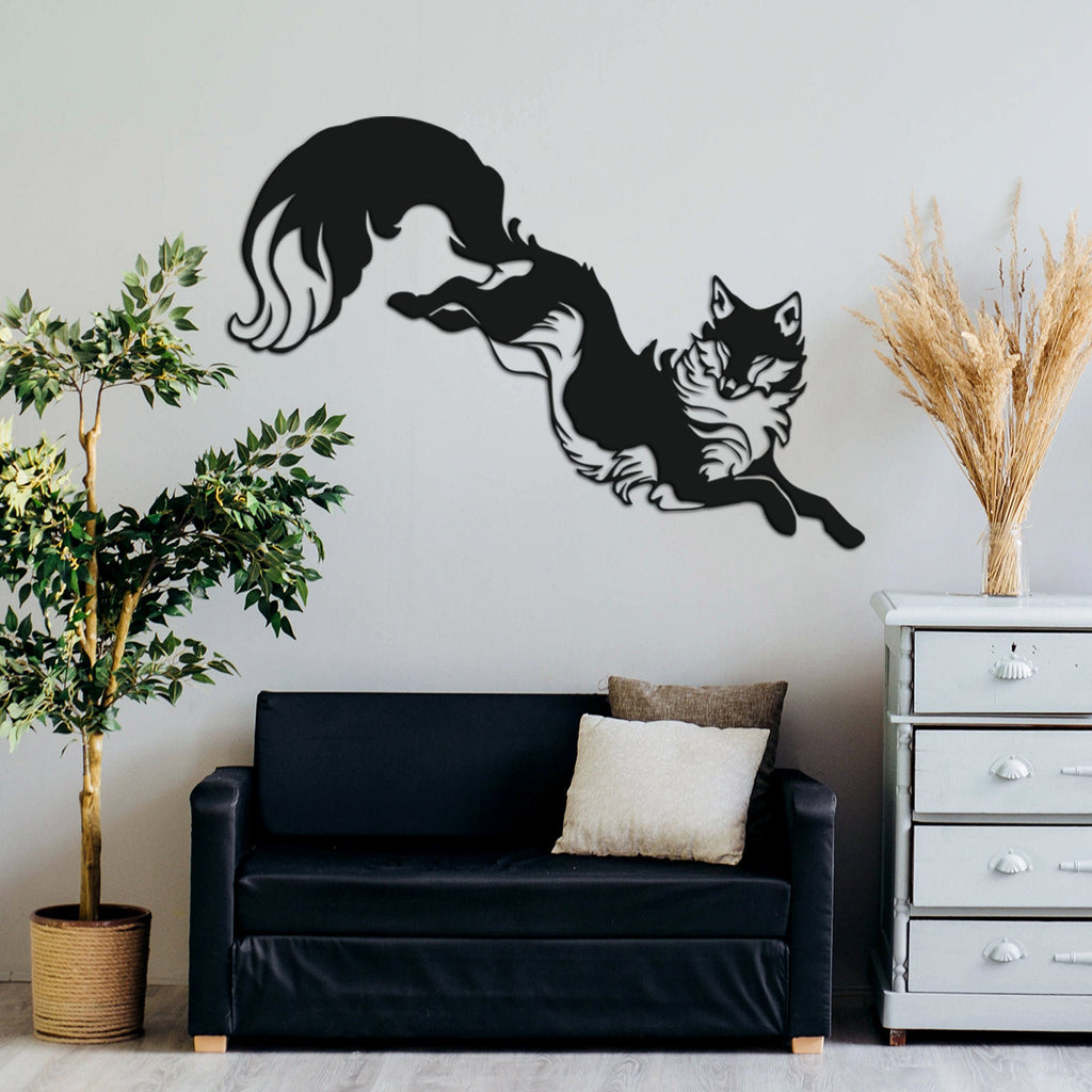 Fox - Metal Wall Art