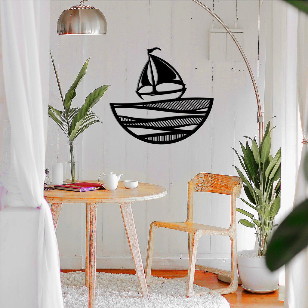 Sailing Ship - Metal Wall Decor - Tolary