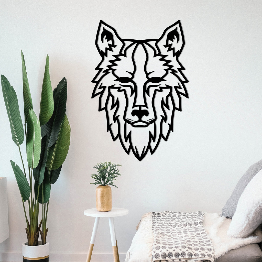 Wolf - Metal Wall Art