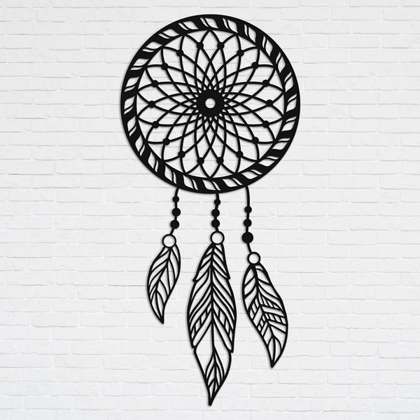 Dream Catcher - Metal Wall Art