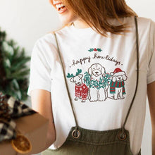 Load image into Gallery viewer, Happy Howlidays T-shirt