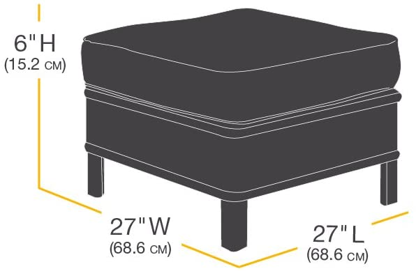 AmazonBasics Side Table Outdoor Patio Furniture Cover