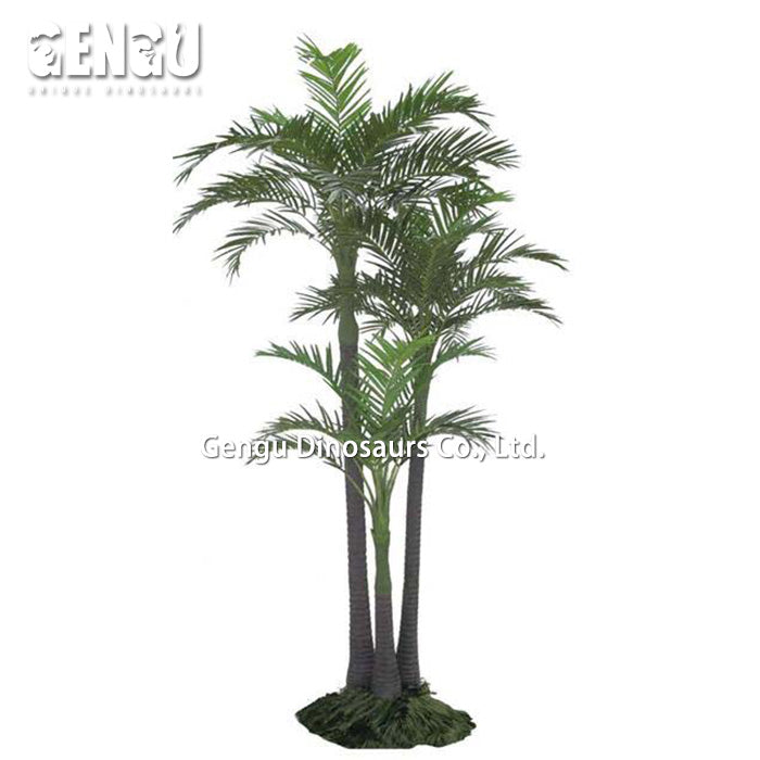 Artificial Decorative Tree Areca Catechu Artificial Plants Outdoor - home and decor-oosmdeals