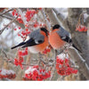 Flowers canvas birds oriental wholesale home decor accents - home and decor