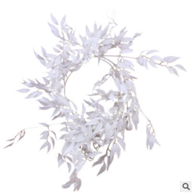 Hot 2M Silk Artificial Eucalyptus Round Leaf Garland Plants Vine Fake Foliage Flowers - home and decor-oosmdeals