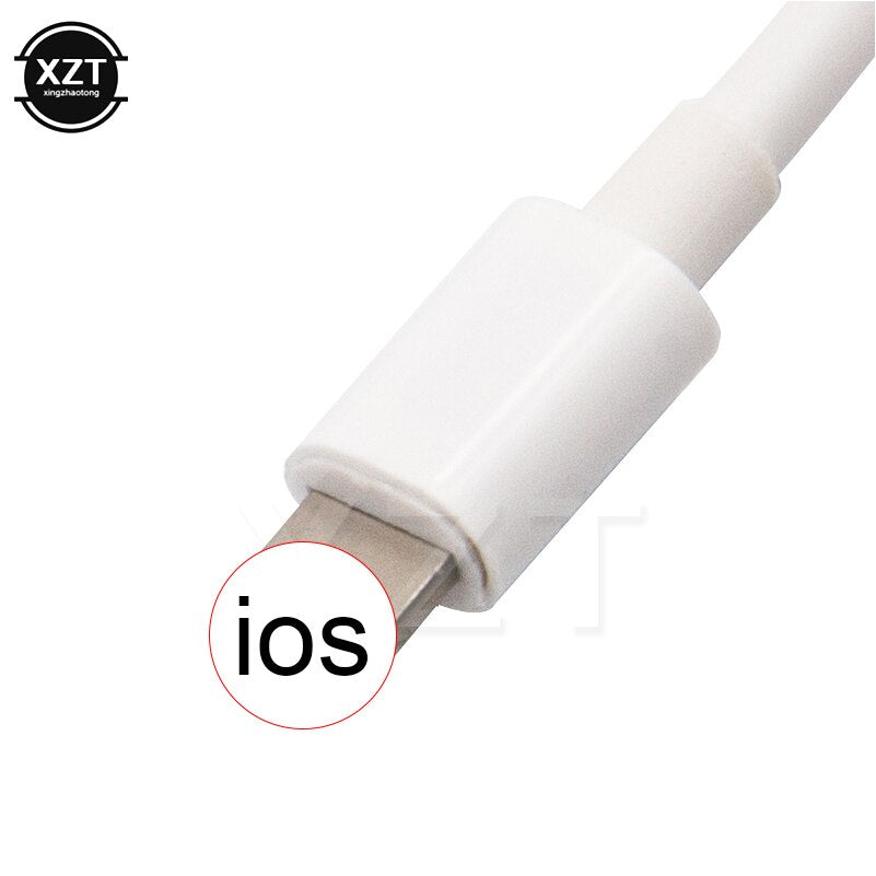 For Lightning Extension Cable Male to Female for iPhone 7 8 plus X Pass Video Data Audio 8-Pin Cable Charge adapter Apple Pencil