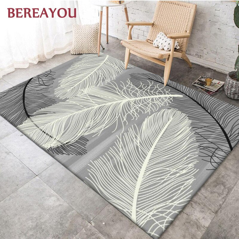 Modern Rugs and Carpet Living room Luxury Bedside Carpet Floor Mat For Kitchen Coffee Table Baby tapis salon коврик в прихожую