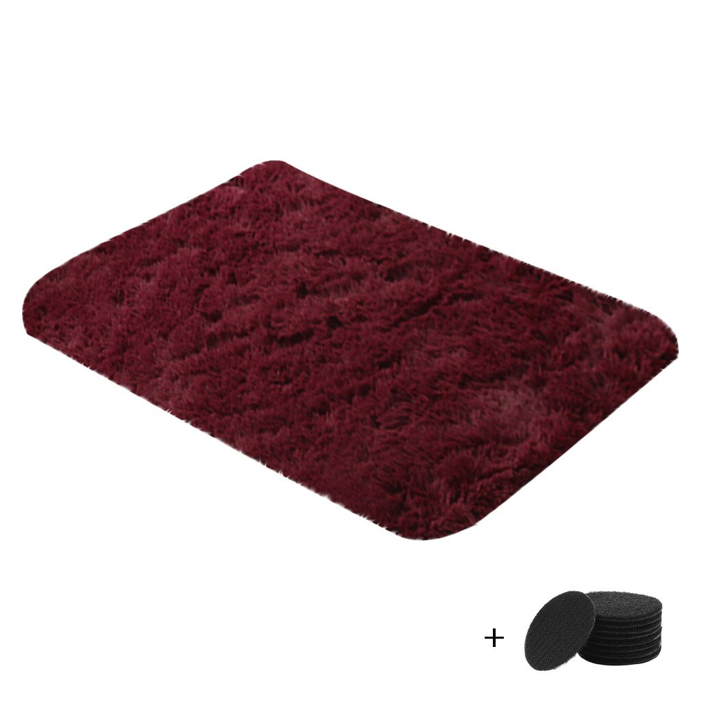40*60cm Household Polyester Blanket Carpet Super Soft Faux Fur Rug For Home Bedroom Sofa Living Room Area Rugs