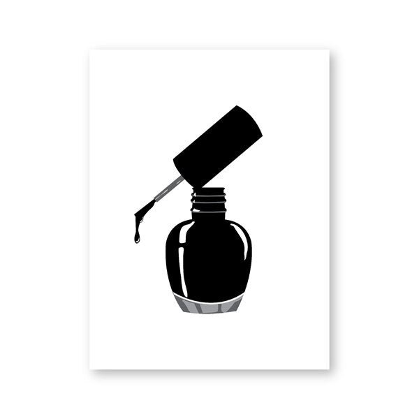 Nail Salon Quotes Makeup Wall Art Posters and Prints Nail Tech Artist Gift Fashion Art Picture Canvas Painting - wall art-oosmdeals