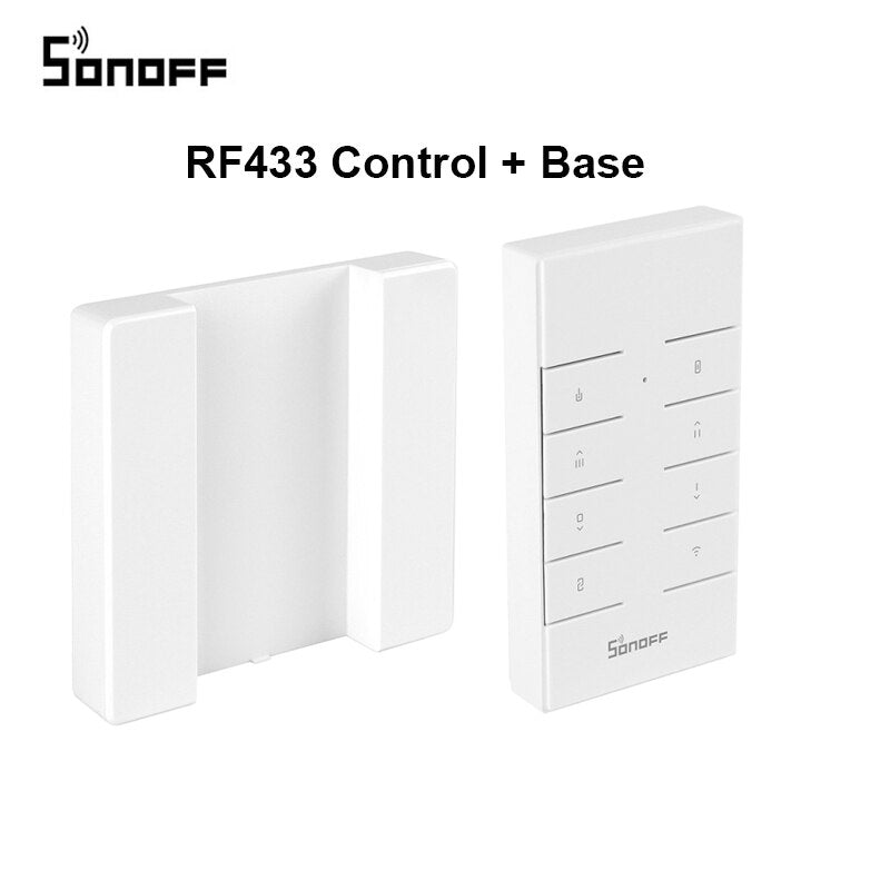 SONOFF T3 T2EU TX Smart Wifi Wall Touch Switch With Border Smart Home 1/2/3 Gang 433 RF/Voice/APP/Touch Control Work With Alexa-oosmdeals
