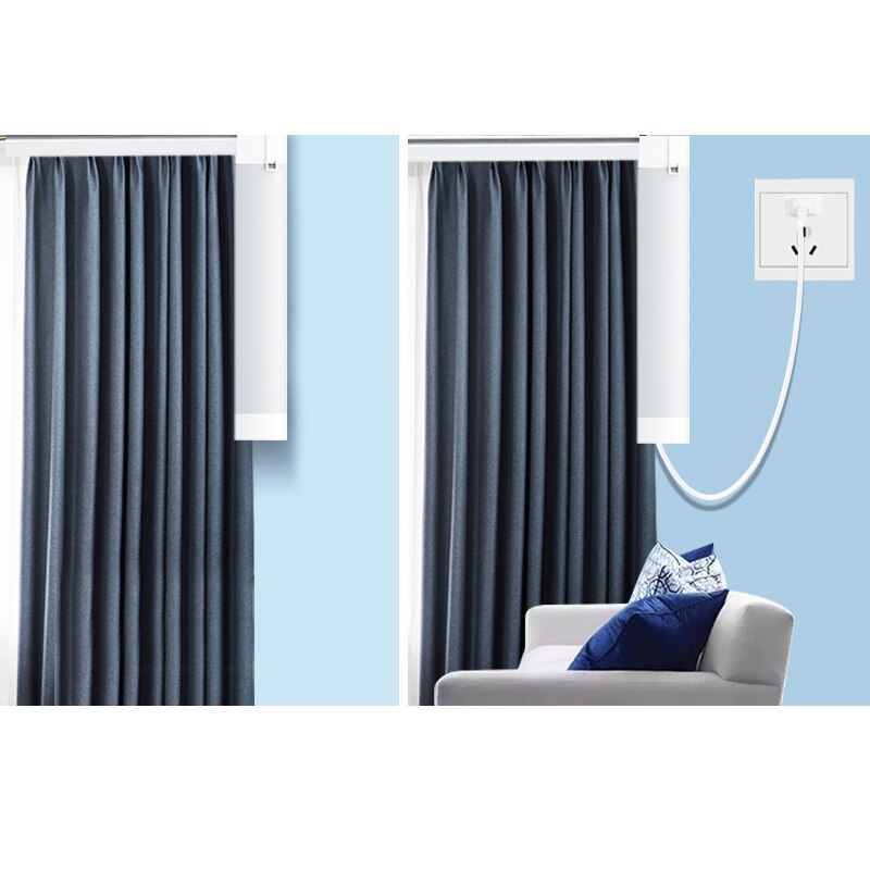 wifi curtain motor RF smart home Electric Curtains Motor wireless remote control tuya smart support voice alexa control