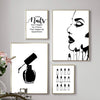 Nail Salon Quotes Makeup Wall Art Posters and Prints Nail Tech Artist Gift Fashion Art Picture Canvas Painting - wall art