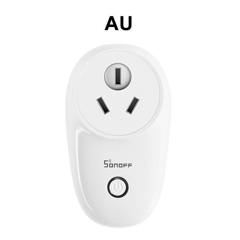 Sonoff S26 WiFi Smart Plug EU US UK AU CN Automation Smart Home Remote Socket Kit Switch - home decor Online store-oosmdeals
