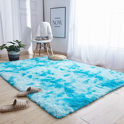 Living Room/Bedroom cotton Rug 40x60cm Ultra Soft Modern Area Rectangle Rugs - home and decor-oosmdeals