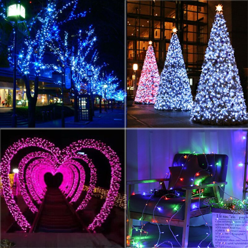 3M 10M 20M 30M 50M 100M LED String Fairy Lights Christmas led string lights garland decor for home wedding party xmas holidays