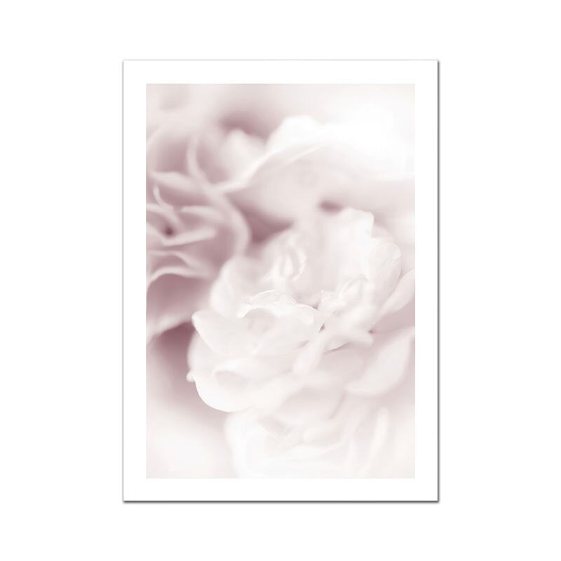 Nordic Figure Poster Flowers Canvas Painting Quote Wall Art Pictures For Living Room - wall art-oosmdeals