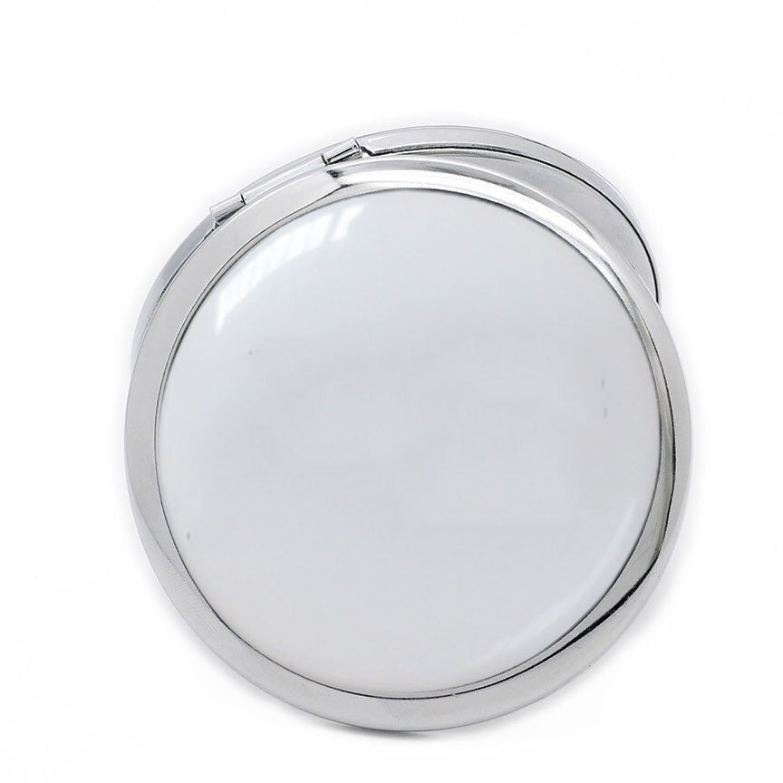 Portable Laser Logo 100pcs/Iot Travel Makeup Mirror Cosmetic Mirror - home and decor-oosmdeals