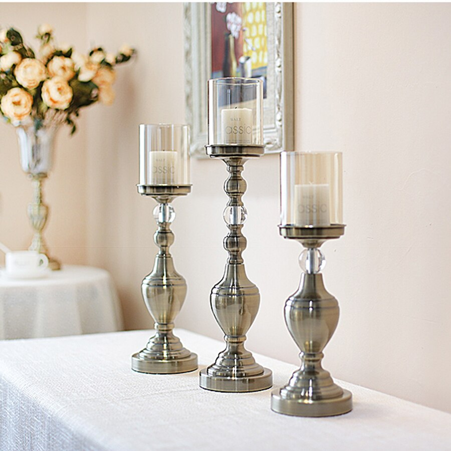 Nordic Home Decor Accents Candlesticks Vintage Candle Holders - home and decor