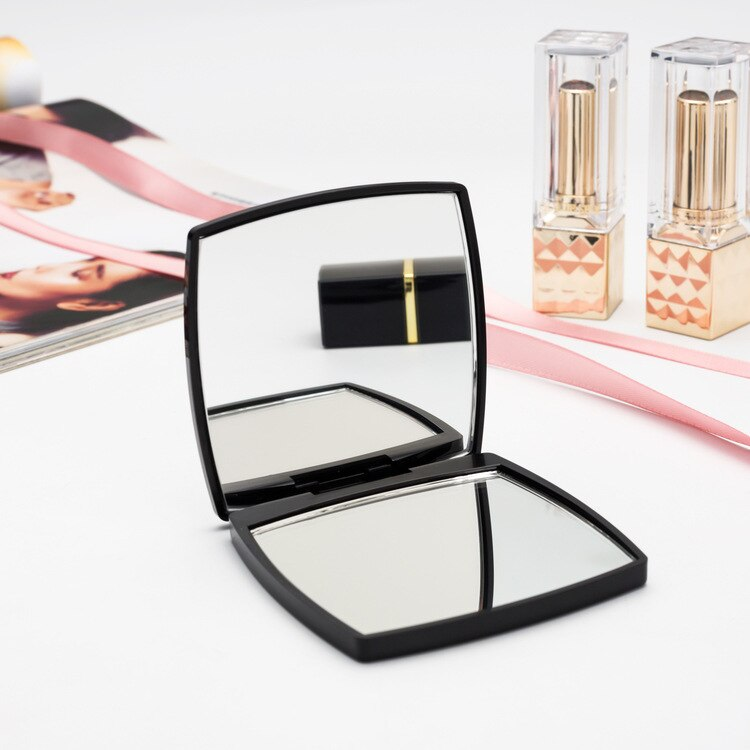Small mirror cosmetology makeup mirror portable small mirror flip - home decor Online store-oosmdeals