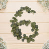 2m Artificial Eucalyptus Rattan Foliage Green Leaves String Simulated Vine Hanging Fake Plants Wedding Party Decor DIY Garland