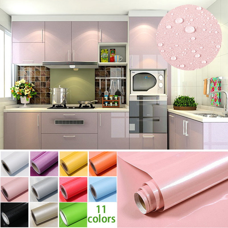New paint waterproof Home decorative film pvc vinyl self adhesive wallpaper - home and decor-oosmdeals