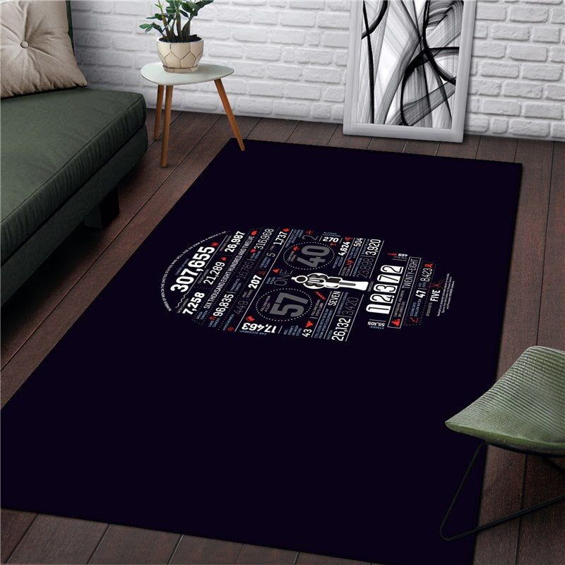 Flower Rug Home Picnic Kitchen carpet - home and decor