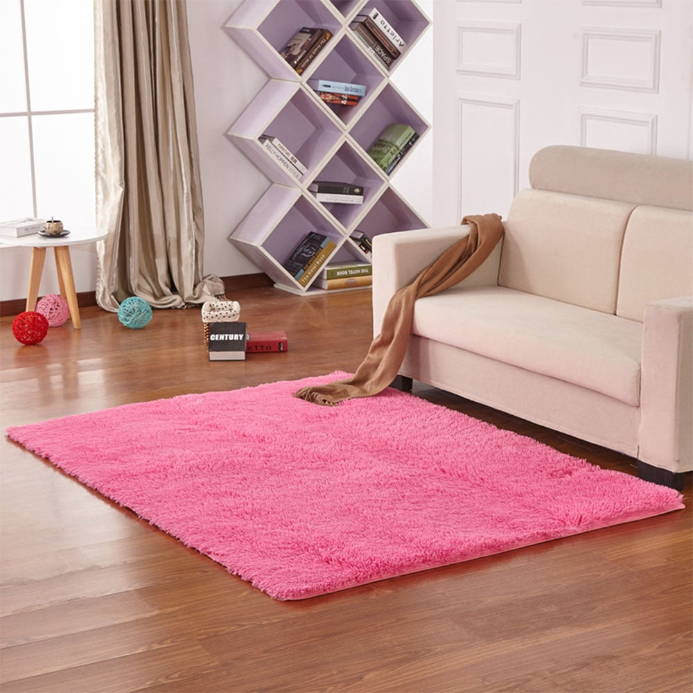 Living Room/Bedroom cotton Rug 40x60cm Ultra Soft Modern Area Rectangle Rugs Shaggy Nursery Rug Home Room Plush Carpet Decor