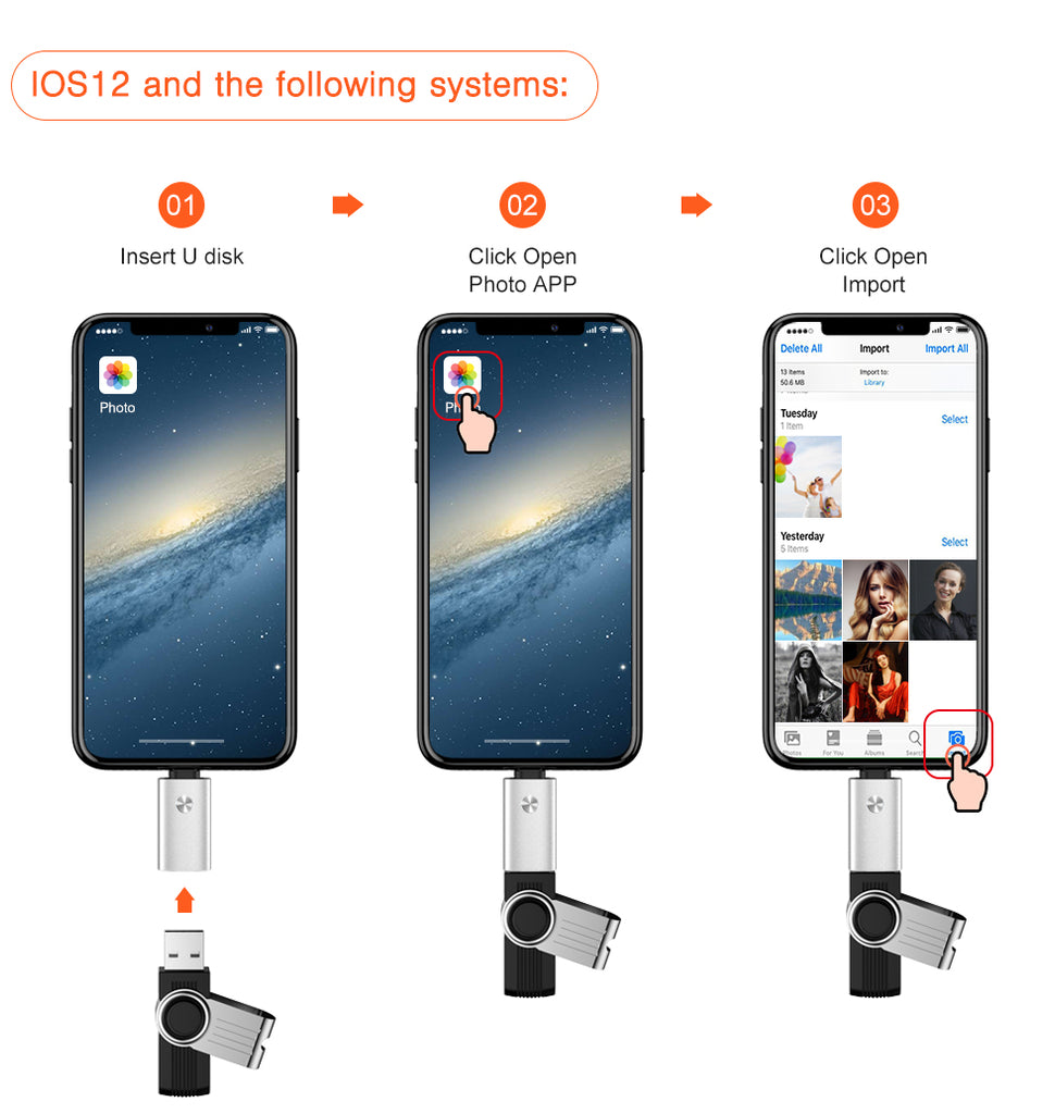 OTG adapter for lightning to USB For iPhone 7 8 6 6s Plus 11 Pro Max X XS XR kit converter for iPad iOS 12 13 connect MIDI piano