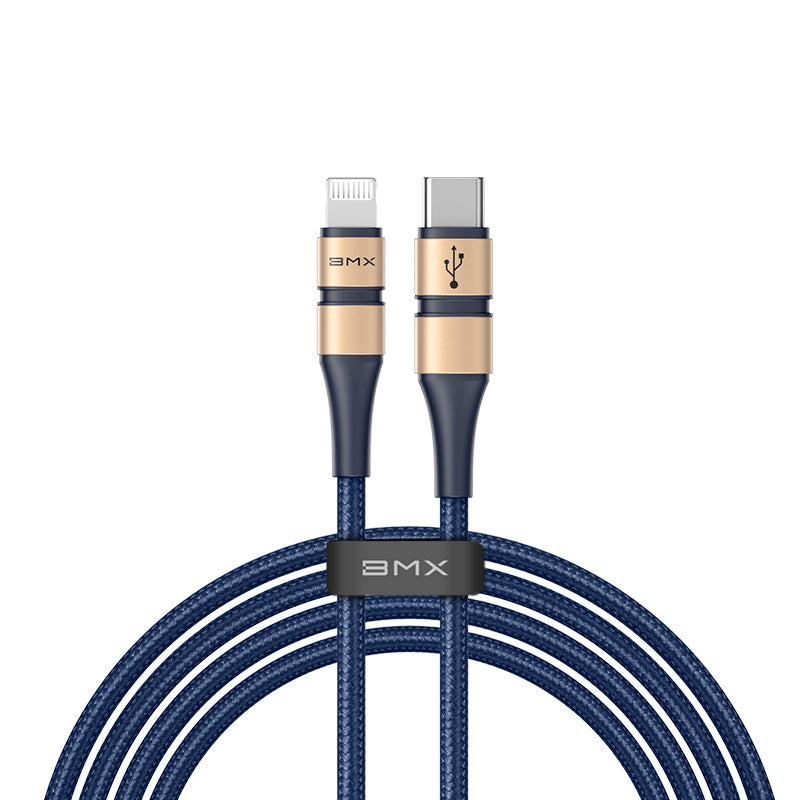 BMX MFi USB C to Lightning Charging Cable for iPhones - home decor Online store