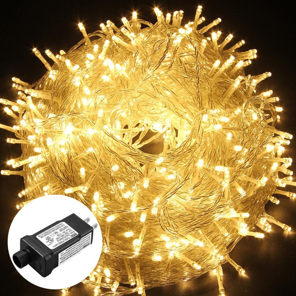 100M 800 Leds Fairy Lights Waterproof 24V Christmas Garland String Holiday Light For Outdoor/Indoor Wedding Party Decoration - home decor Online store