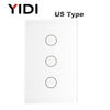 WiFi Electric Smart Curtain Switch Tuya APP Voice Remote Control Touch Switch for Automized Curtain Motor Blind Roller Shutter-oosmdeals