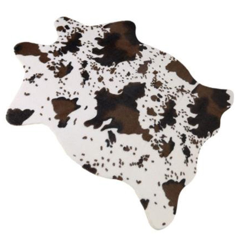 Imitation Animal Skins Rugs and Carpets Cow Carpets for Living Room - home and decor