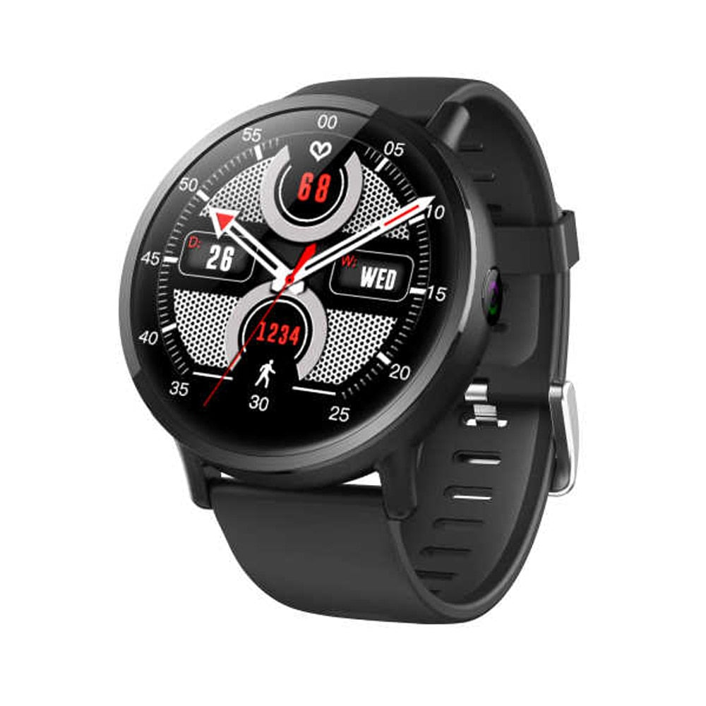 Lemfo LEM X 4G Smart-Watch Phone Android 7.1 Men SIM Call 2.03 Inch 8.0MP Camera 1G+ 16G Wifi - home decor Online store