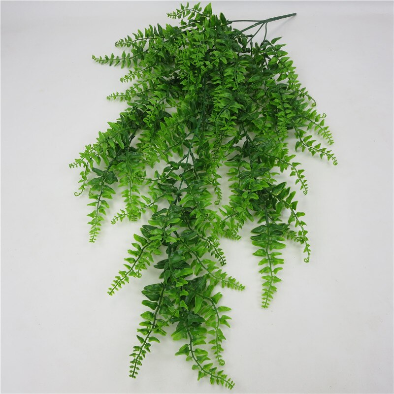Artificial Leaves Plastic Plant Vine Wall Hanging Garden Living Room Club Bar Decorated Fake Leaves Green Plant Ivy P0.11