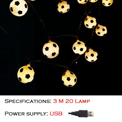 World Cup in Russia Football Light LED